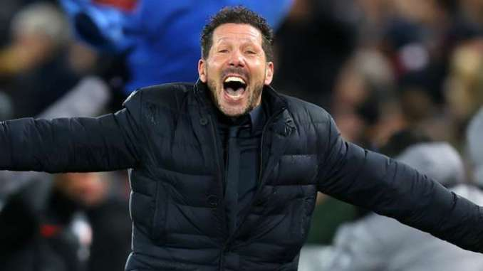 Diego Simeone Atletico Madrid 2019-20