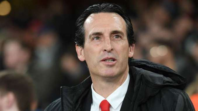 Unai Emery Arsenal 2019-20