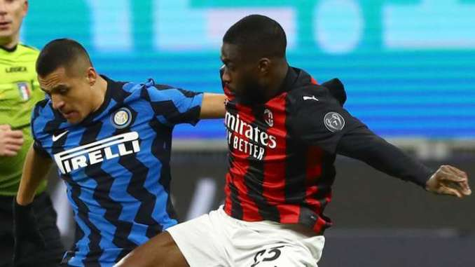Tomori Alexis Sanches Milan Inter 2020