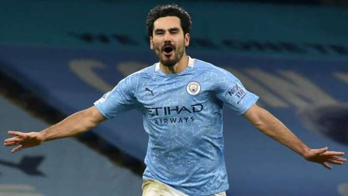 Ilkay Gundogan Man City 2020-21