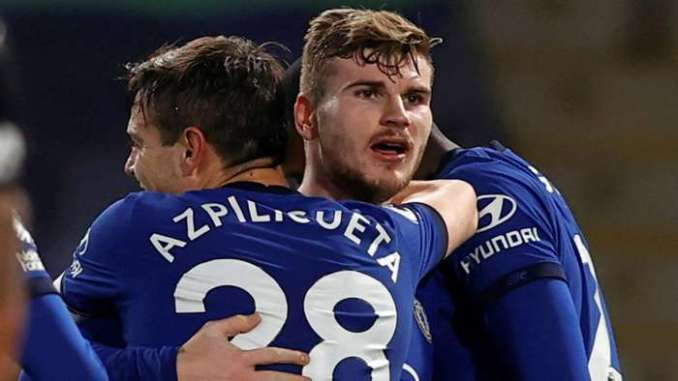Timo Werner Chelsea 2020-21