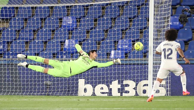 Thibaut Courtois has kept four clean sheets in his last four games