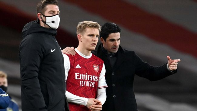 Mikel Arteta would dearly like to keep Martin Odegaard at Arsenal beyond the 2020-21 campaign