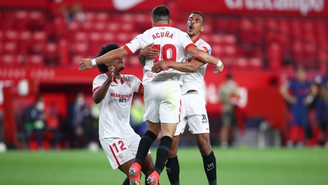 Sevilla are mounting a late charge for the LaLiga title