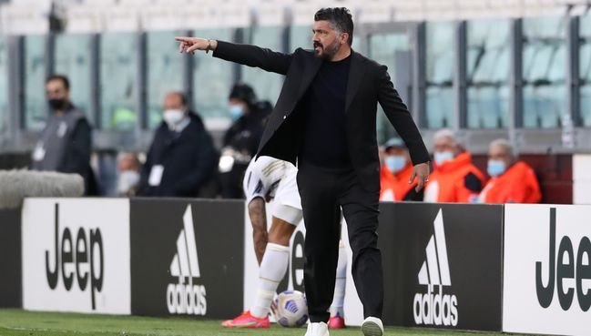 Gennaro Gattuso's Napoli need to beat AC Milan to keep their Champions League hopes alive