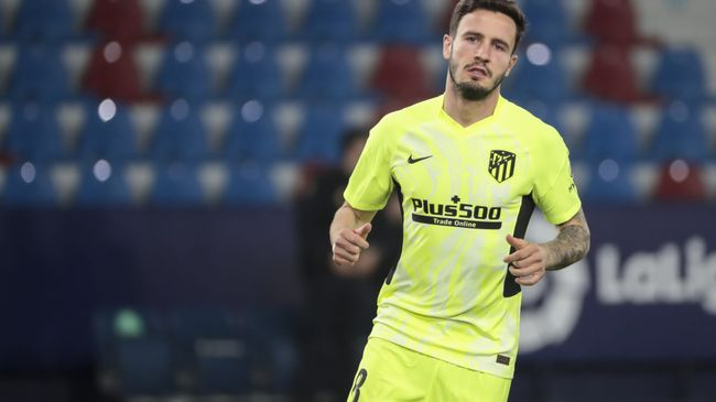 Atletico Saul Niguez had plenty to say on the LaLiga title race when speaking to LiveScore