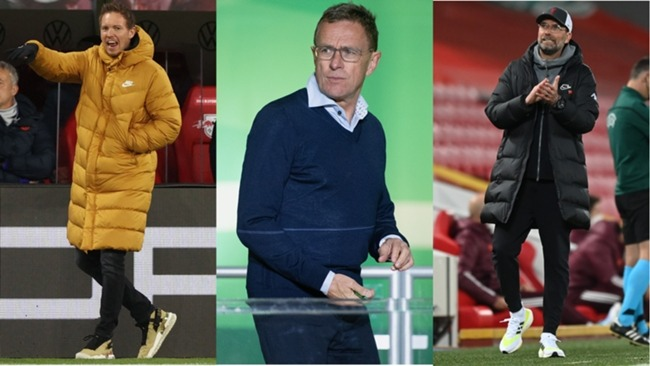 Three of the candidates to succeed Hansi Flick as Bayern Munich boss