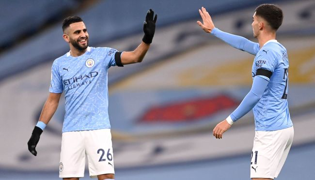 Riyad Mahrez has established himself as one of Pep Guardiola's most reliable attacking options