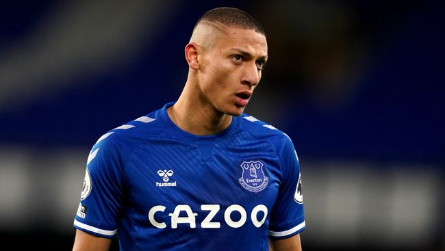 Richarlison has not always been at his best for Everton this season