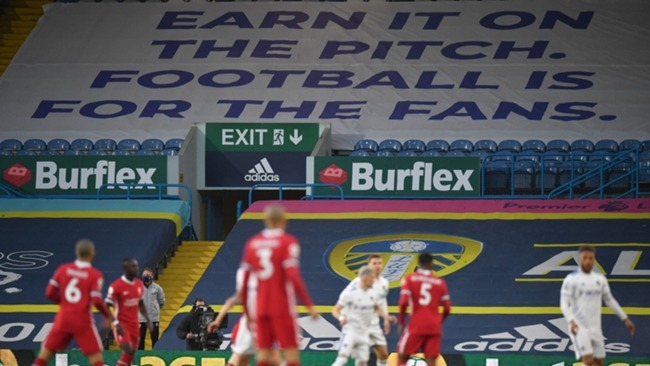 Leeds United hosted Liverpool amid the backdrop of the European Super League announcement.