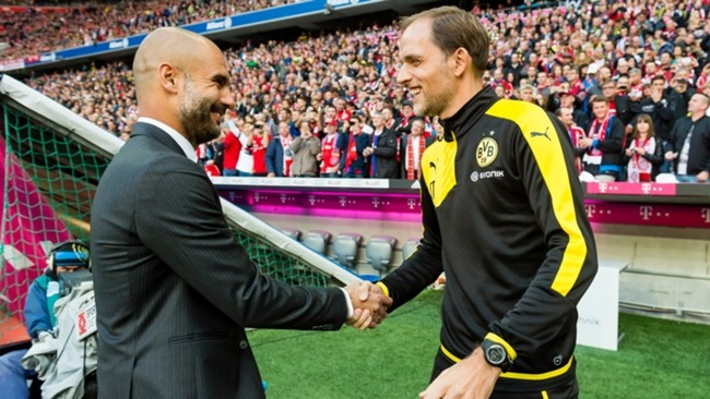 Thomas Tuchel has never beaten Pep Guardiola in his managerial career