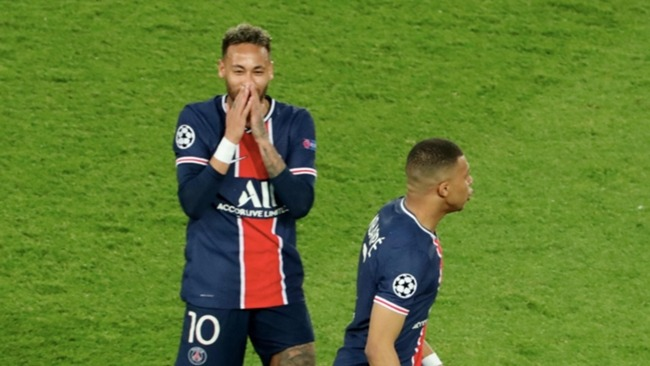 Neymar and Kylian Mbappe were disappointing in the first leg