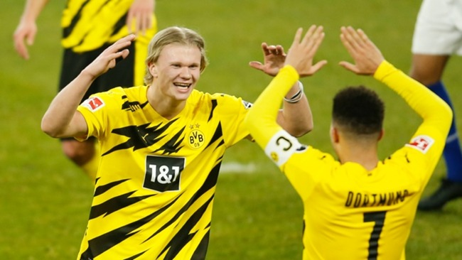 Borussia Dortmund duo Erling Haaland and Jadon Sancho are in the headlines once again