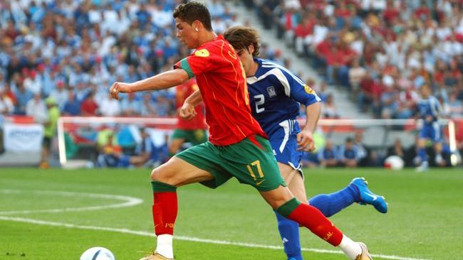 Cristiano Ronaldo finished as a runner-up in Euro 2004 — his first tournament