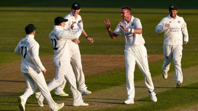 Stuart Broad inspired Nottinghamshire to a long-awaited victory