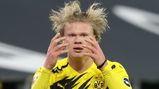 Erling Haaland has been linked to a number of clubs, including Real Madrid and Barcelona