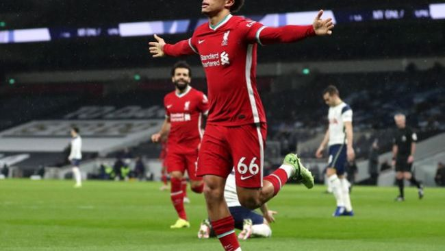 Trent Alexander-Arnold's form has been a hotly debated topic this season