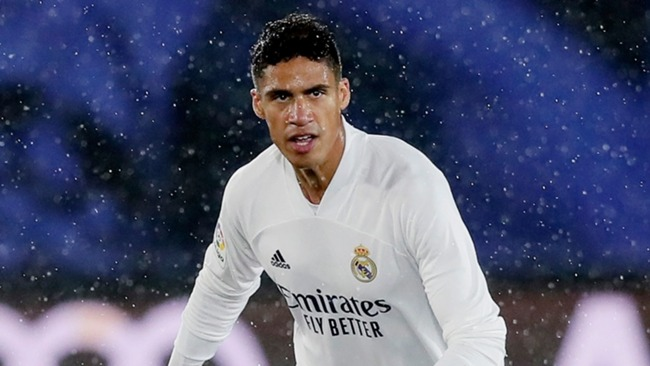 Raphael Varane had to be substituted during Real Madrid's win over Osasuna.