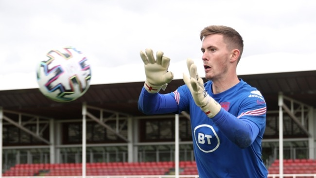 Dean Henderson has pulled out of the England squad