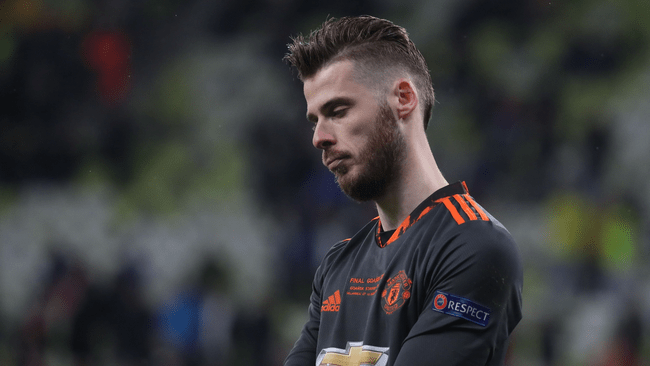 Spain goalkeeper David de Gea could be on his way out of Manchester United