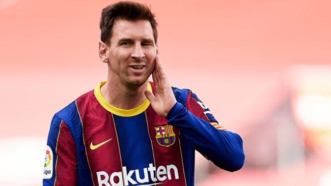 Lionel Messi's future is up in the air
