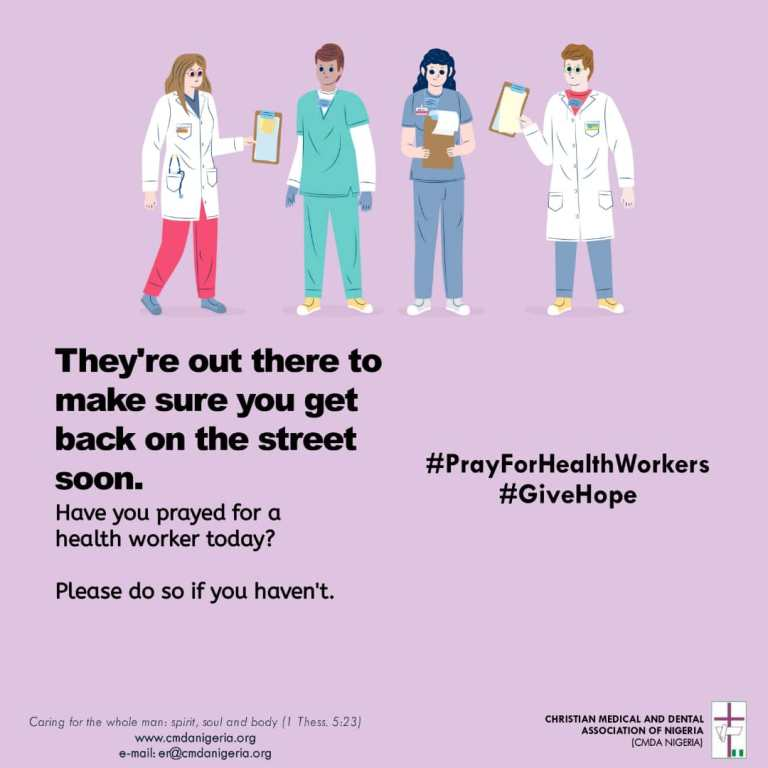 Pray For Health Workers