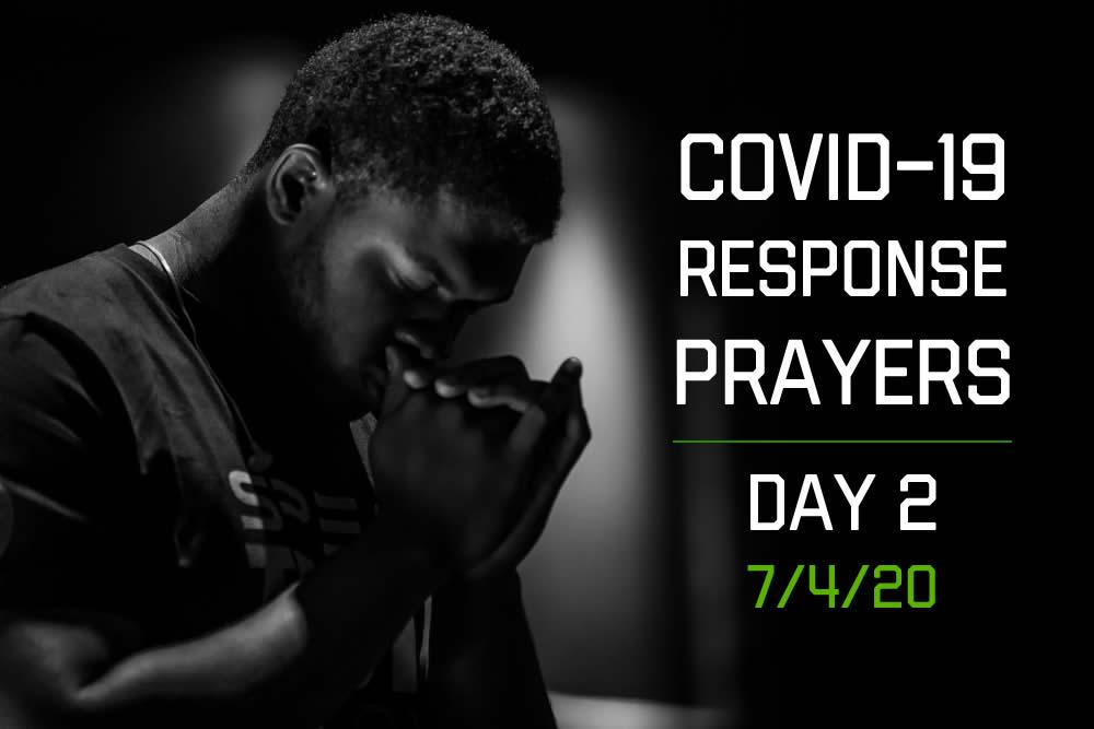 COVID-19 Response Prayers – Day 2
