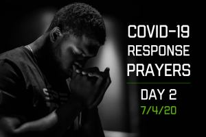 COVID-19 Response Prayers – Day 2