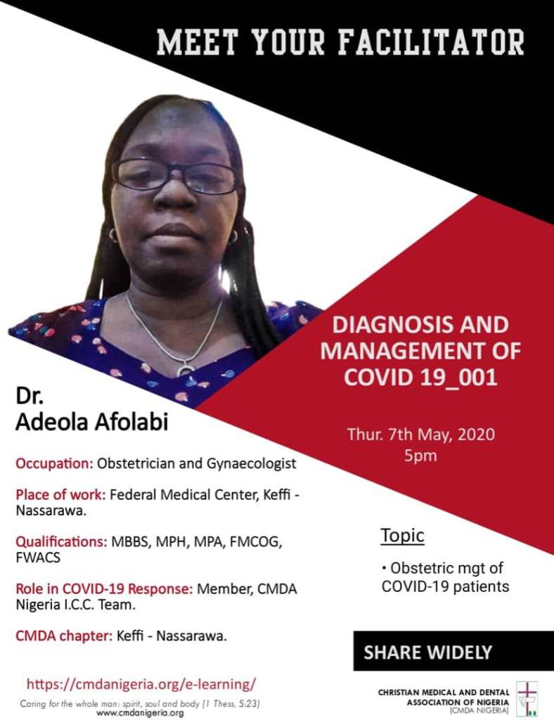 COVID-19 Online Training : Diagnosis and Management of COVID-19_001