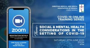 COVID-19 Online Training Series: Social And Mental Health Considerations In The Setting Of COVID-19