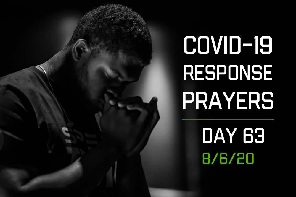 COVID-19 Response Prayers – Day 63