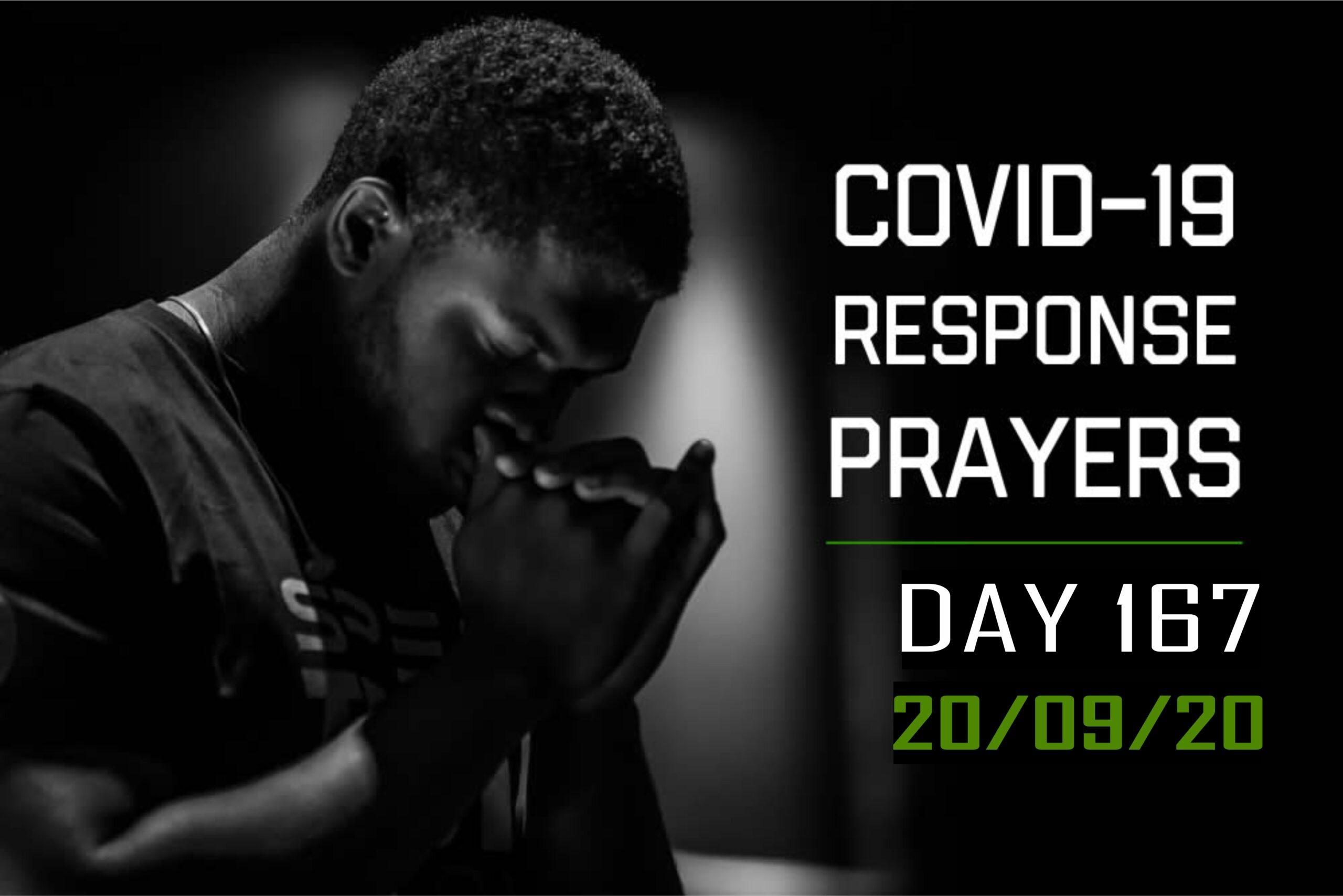 COVID-19 Response Prayers Day – 167