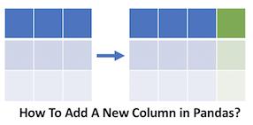 3 Ways to Add New Columns to Pandas Dataframe? | Python, R