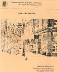 Notas de prensa - portada - Biblioteca