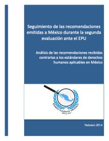 Seguimiento recomendaciones emitidas a México durante el EPU