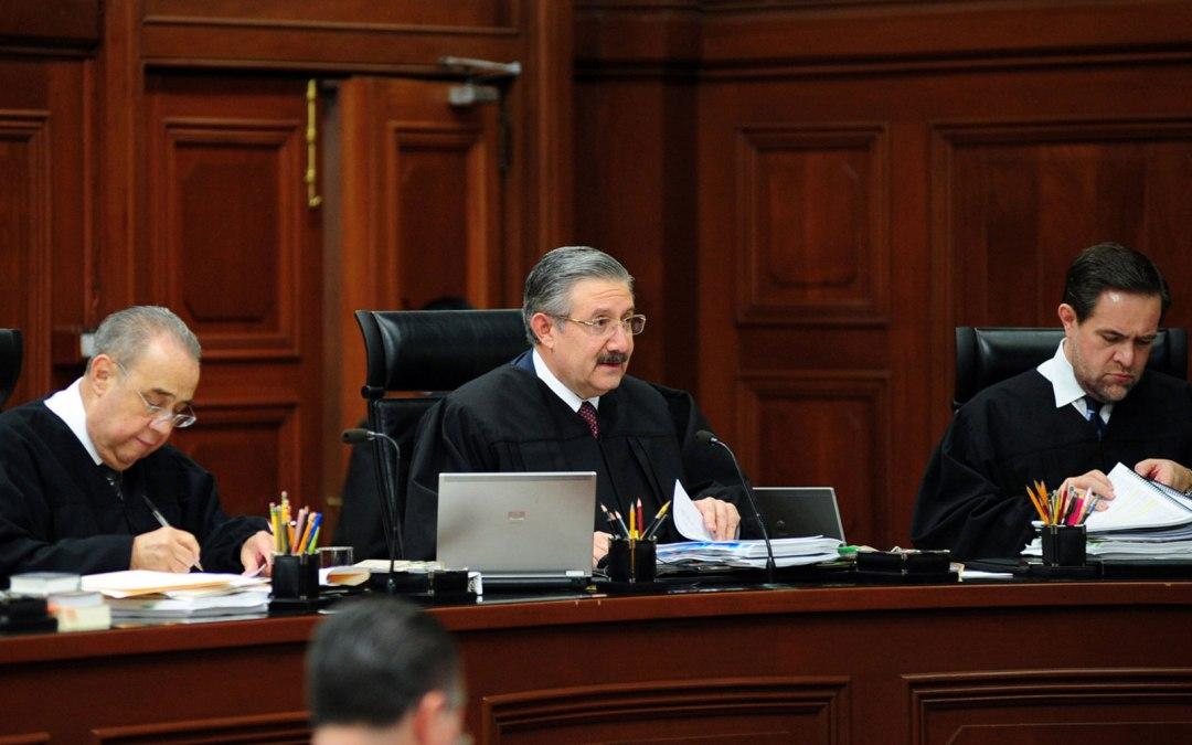 Designación del Presidente de la Suprema Corte de Justicia de la Nación
