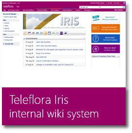 Teleflora Internal Resource Information System
