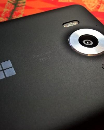 Lumia 950 camera lens