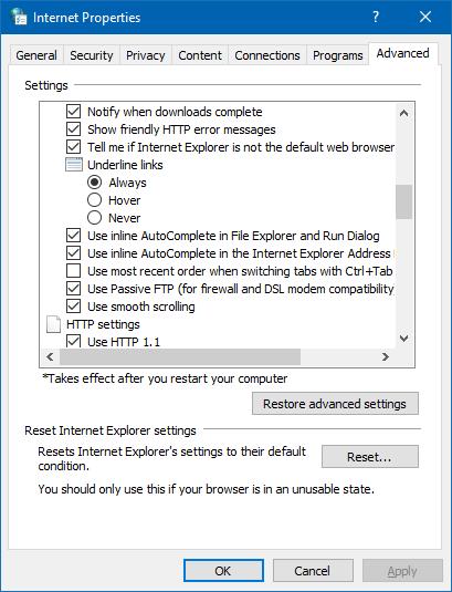 Use Autocomplete in Windows 10 Run and File Explorer - CmdrKeene's Blog