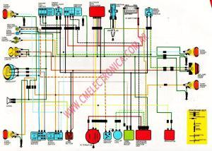 Diagrama honda xl250r 1984