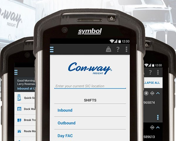 Con-way Mobile Freight Application