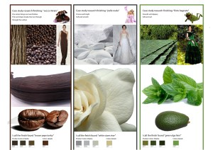 Mood images board - research natural finishing
