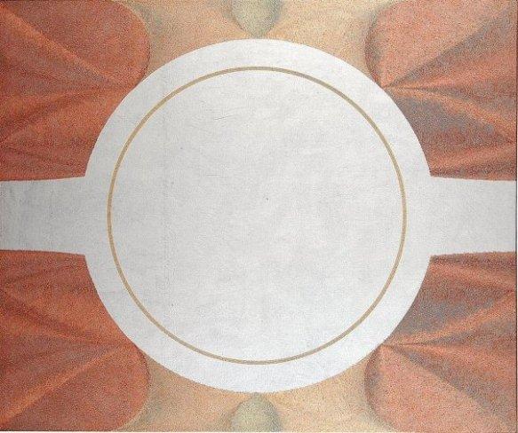 Axis Mundi: acrylic - injection painting su tela 2007 - 100x120cm