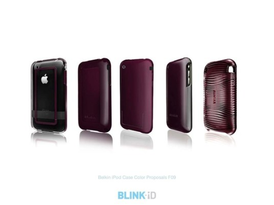 Belkin iPod Case Color Proposals