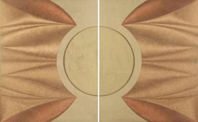 Artemide: acrylic injection painting on canvas 2008 - 75x120cm