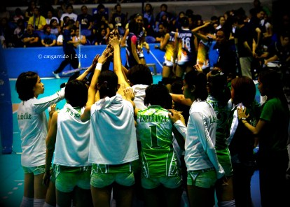 the DLSU Lady Spikers