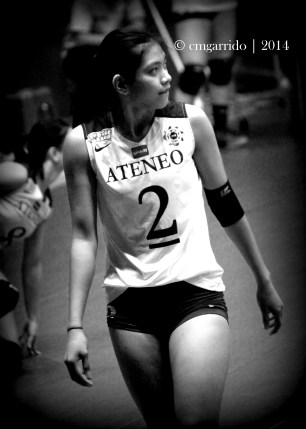 Lady Eagle team captain, Alyssa Valdez