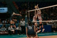 Myla Pablo powering her way through the UP defense