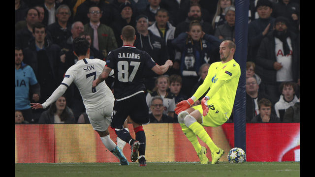 Tottenham back on track in Europe with 5-0 rout of Red Star