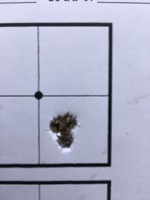 Harvester 4 shot grouping at 200m - 6mm dasher